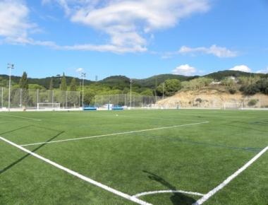 Fallece una persona en un partido de fútbol de veteranos  en Canet de Mar